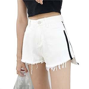 Mujer Pantalones Cortos Vaqueros Básicos Pantalones cortos ...