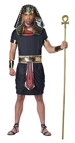 California Costumes Men's Deluxe Pharaoh Costume, Multi, X-Large