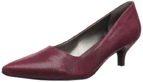 Trotters Womens Paulina Pump Rosso Scuro