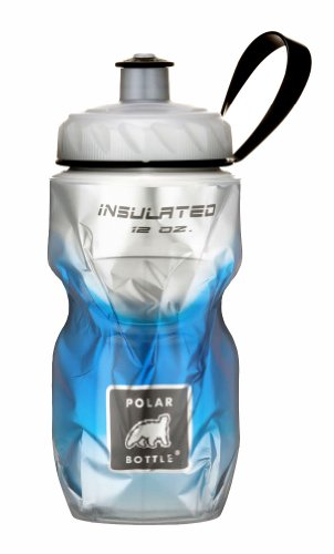 Polar Bottle Insulated Water Bottle (12-Ounce) (Blue - Ray Polar