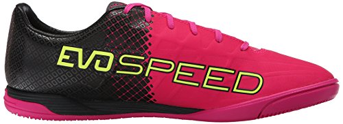 Puma Evospeed 4,5 Tricks E Scarpe da calcio Pink Glow/Safety Yellow
