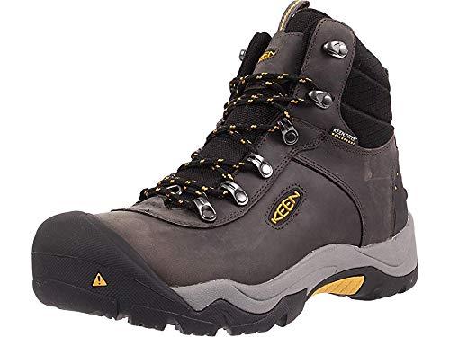 KEEN Men's Revel III Winter Boot, Magnet/Tawny Olive, 8 M US