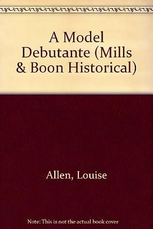 book cover of A Model Debutante