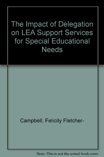 The Impact of Delegation on LEA Support Services for Special Educational Needs