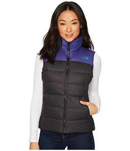 The North Face Women's Nuptse Vest, Black/Bright Navy, Medium