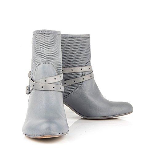 Felmini - Zapatos para Mujer - Enamorarse con Obidos 8773 - Botas con Tacón - Genuine Cuero - Varios colores