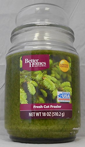 Better Homes and Gardens Fresh Cut Frasier 18 Oz Jar Candle