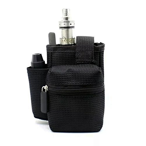 GinTai Ego Travel Carry Vape Case Multiple Use for Vape Box Mod Kit Bag (Black)