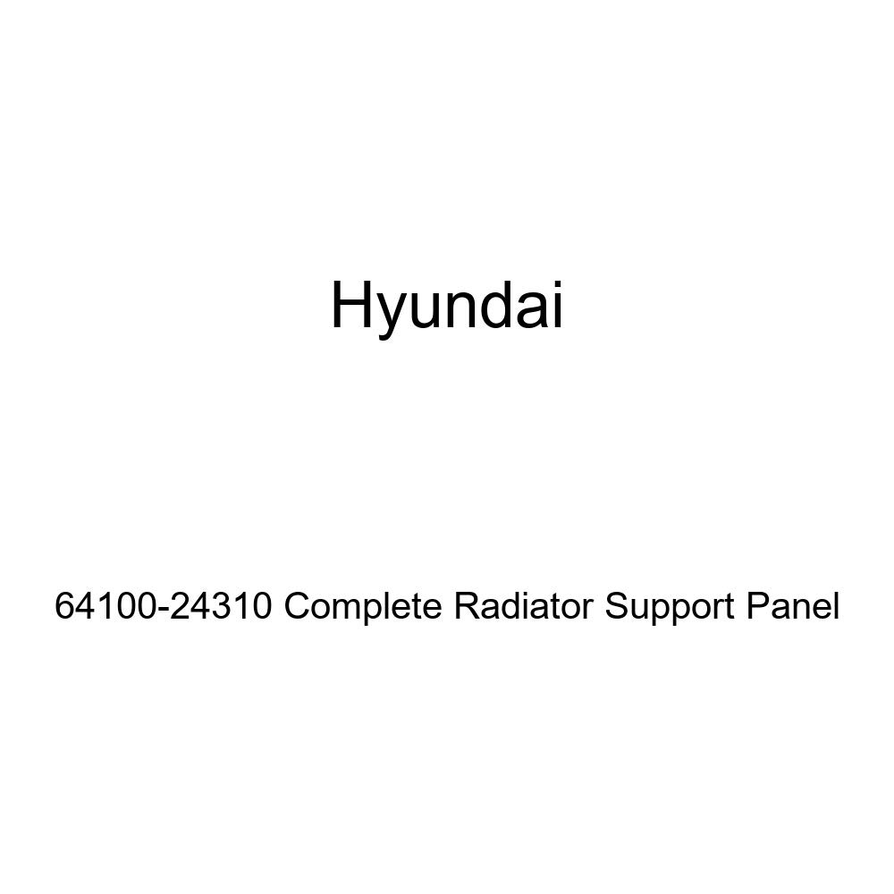 Genuine Hyundai 64100-24310 Complete Radiator Support Panel