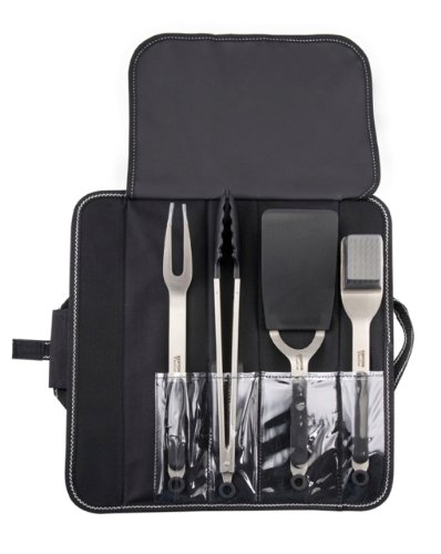 Kenyon A70011 4-Piece Stainless Steel Grill Utensil Set - Kenyon Stainless Steel Grill
