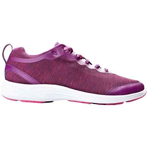 Vionic with Orthaheel Technology Women's FYN Active Sneaker,Purple,US 8 M -