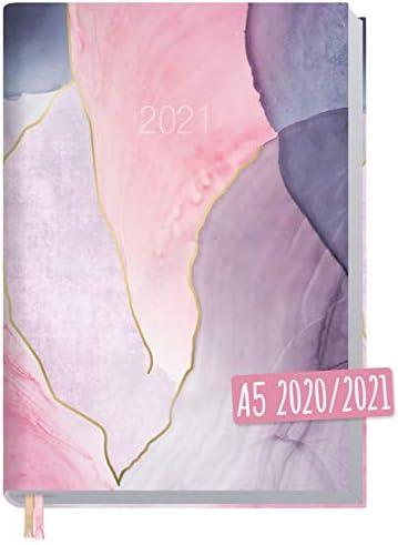Chäff-Timer Classic A5 Kalender 2020/2021 [Soft Shades] Terminplaner 18 Monate: Juli 2020 bis Dez. 2021 | Wochenkalender, Organizer, Terminkalender mit Wochenplaner - nachhaltig & klimaneutral