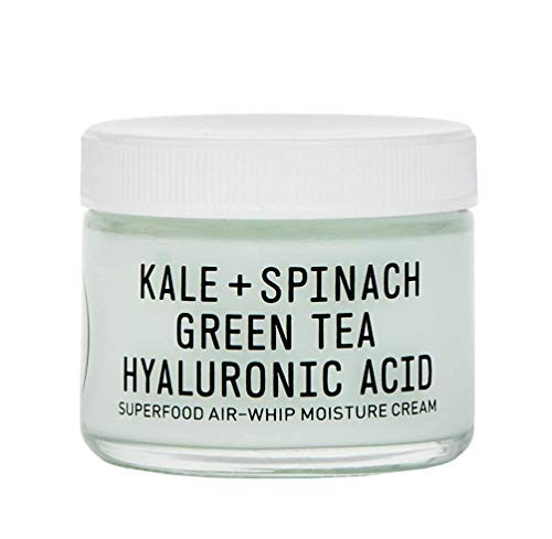 Youth To The People Superfood Hyaluronic Acid Air-Whip Moisture Cream – Vegan Face Moisturizer with Green Tea, Clean Skincare 2oz