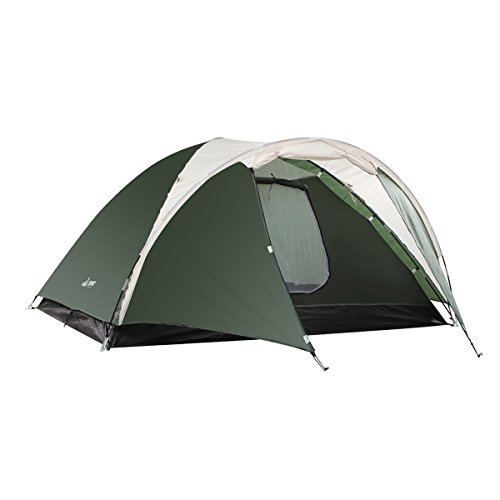 SEMOO-Double-Layer-3-4-Person-3-Season-Lightweight-CampingTraveling-Tent-with-Carry-Bag