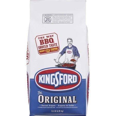 - Kingsford Original Charcoal Briquettes, 15.4 lbs, 1 Count