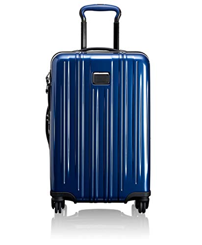 TUMI - V3 International Expandable Carry-On Luggage - 22 Inch Hardside Suitcase for Men and Women - Deep Blue