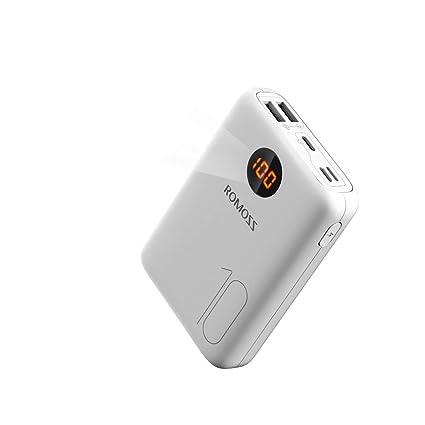 Amazon.com: ROMOSS 10000mAh Cargador Portátil Tipo C con ...