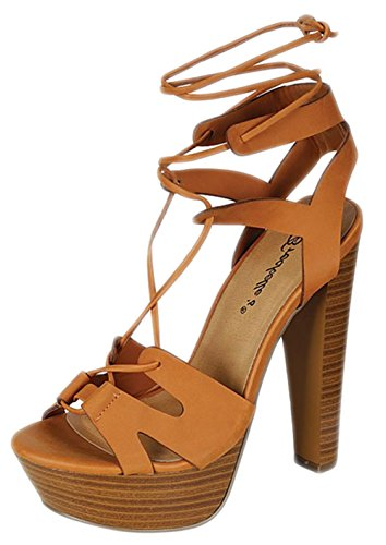 Breckelles Womens Thick Sandal Shoes product image