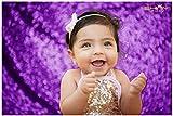 4FTx7FT Sequin backdrops,Purple Sequin Photo Booth Backdrop, Party backdrops, Wedding backdrops, Sparkling backdrops, Christmas Decoration (Purple)