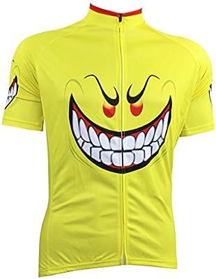 AL-1031 LAOYOU para bicicleta de montaña para hombre de manga larga Sports camiseta deportiva de manga corta cómodo transpirable regulable para camisas Wear camiseta de manga corta de costura para confeccionar camisetas,