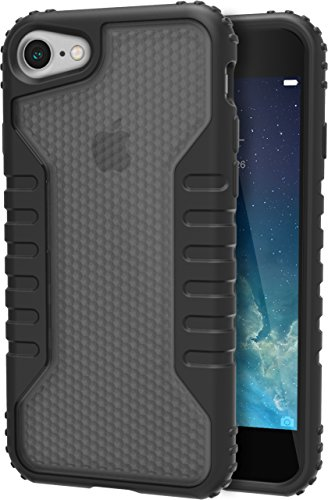 Price comparison product image Silk iPhone 7 Tough Case - Silk Armor iPhone 7 [Rugged Grip] Includes 2 Glass Screen Protectors - Smoke
