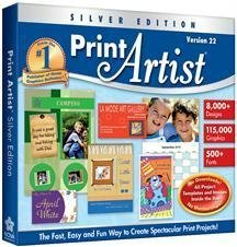 Print Artist 22 Silver Edition (Jewel Case) by Nova Development US
