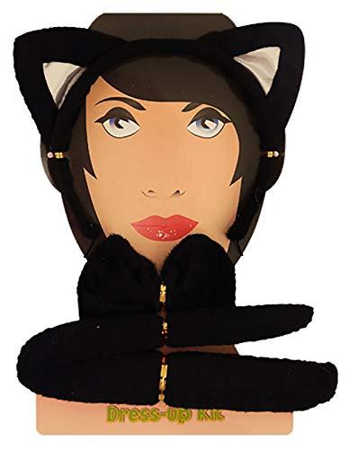 negra talla de moda mujer Diadema para gato Juego 21 de wnTAvIzqnZ