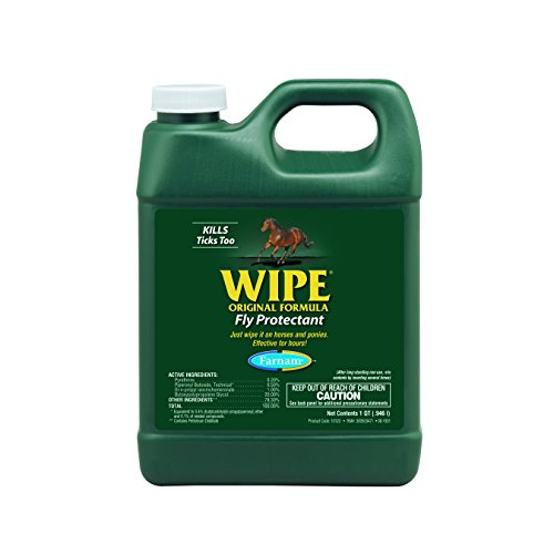 Farnam Home and Garden 10123 Original Formula Wipe Fly Protectant, 32-Ounce