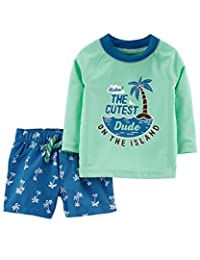Carter's Baby Boys' Sailing Swim Set