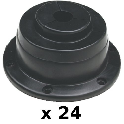 well Rigging and Cable Boot for Boats - Rigging Hole Cover ()