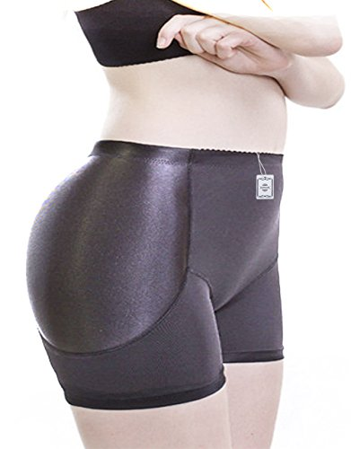 women-pure-black-jacquard-padded-butt-hip-enhancer-shaper-panties-underwear-4xl-black