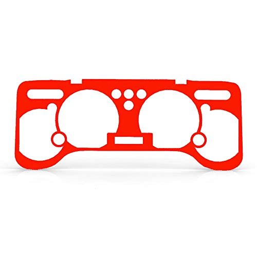Ferreus Industries Apple Red Gloss Gauge Cluster Dash Bezel Trim fits: 1997-2006 Jeep TJ -