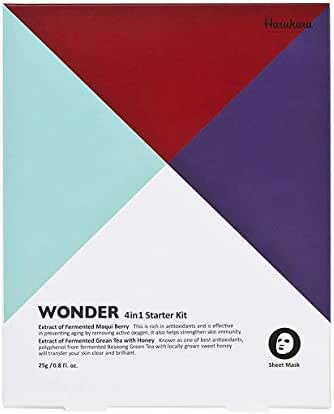 Haruharu WONDER Starter Kit (25g x 4EA) Anti-Oxidant & Brilliant & Repairative & Aqua Bomb