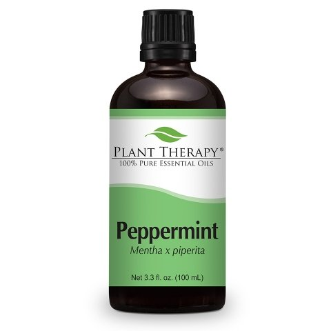 Plant Therapy Peppermint Essential Oil | 100% Pure, Undiluted, Natural Aromatherapy, Therapeutic Grade | 100 milliliter (3.3 ounce)