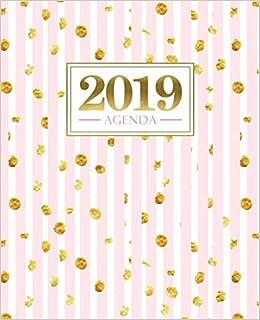 Amazon.com: Agenda 2019: 19x23cm: Agenda 2019 settimanale ...