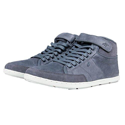 Boxfresh Zapatillas para hombre swich bockland para WTR lea/SDE - STL GRY (E14396)