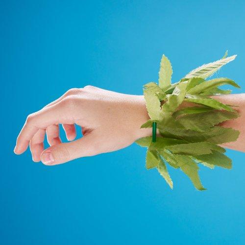 10 Tropical Leaf - Tropical Fern Leaf Wristlet/Anklet 10