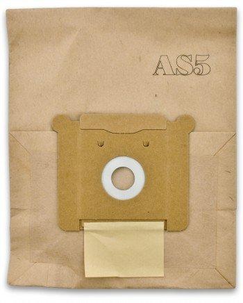 2 packages of GHIBLI OEM AS5 VACUUM PAPER BAG 5 PACK JOHNNYVAC JV5