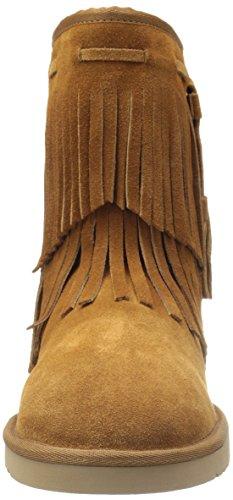 d0c23977dba Koolaburra by UGG Women's Cable Winter Boot, Chestnut, 10 M US