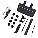 Feccile Sports & Fitness 1 Set Bicycle Repair Multi Tool Kit MTB Mini Tyre Pump Accessory