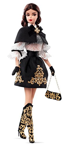 Barbie BCP82 BMFC Black and Gold Dress Barbie Doll