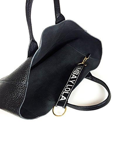 Bimba y Lola Donna Xl leather shopper bag 181BBGG2C Venta Barata De Marca Nueva Unisex Z5m3b