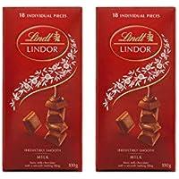 Lindt Milk Lindor Single Twin Pack