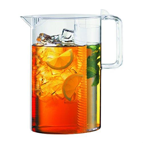 Bodum 1470-10S Ceylon Iced Tea Jug, Plastic, 1.5 liters, Transparent
