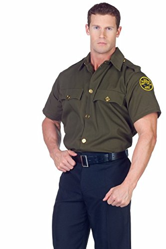 Border Patrol Shirt Adult Accessory Size