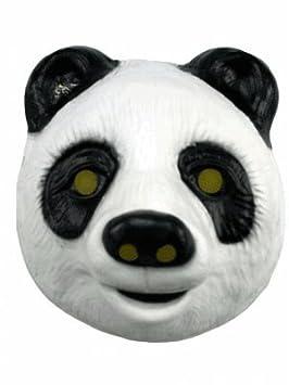 Máscara de oso Panda para niños plástico