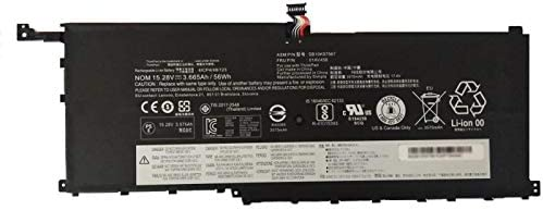 Dentsing Compatible Laptop Battery with Lenovo 01AV458 (15.28V 3665mAh/56Wh) ThinkPad X1 Carbon Yoga Series Notebook 4ICP4/48/123 SB10K97567-6 Months ...