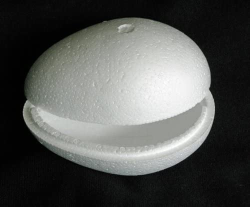 Craftmill hueco de poliestireno huevos 30 cm/300 mm – caja de ...
