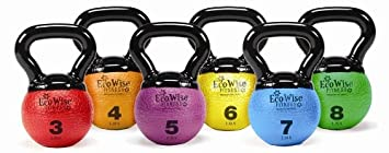Mini Kettlebell Medicine Ball Color Weight Red 3 lbs