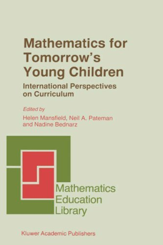 Download Mathematics for Tomorrow's Young Children (Mathematics Education Library) Pdf